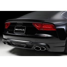 Rear Apron for Audi A7 Sportback 2011-2015 by Wald International