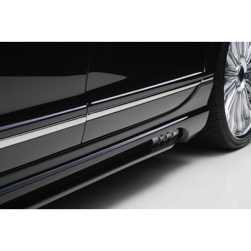 Side Skirt Set for Bentley Continental Flying Spur 2005-2013 by Wald International