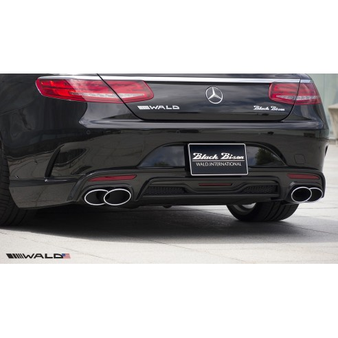 Rear Apron for Mercedes-Benz S Class Coupe 2015-2016 by Wald International