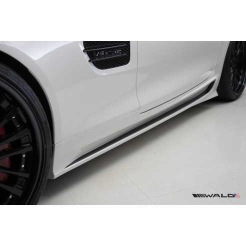 Side Skirt Set for Mercedes-Benz AMG GT S 2015-2016 by Wald International