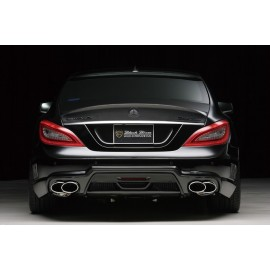Rear Bumper with LED Lamp for Mercedes-Benz CLS-Class 2012-2014 by Wald International