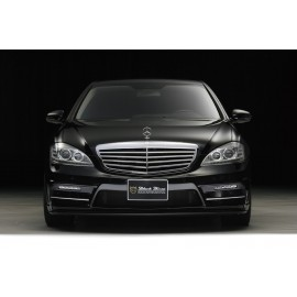 Front Bumper with LED Lamp for Mercedes-Benz S Class Sedan 2010-2013 by Wald International