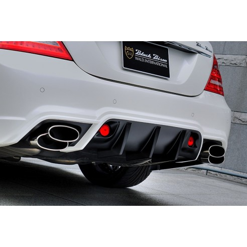 Rear Bumper with LED Lamp for Mercedes-Benz S Class Sedan 2010-2013 by Wald International