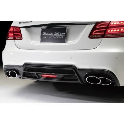 Rear Bumper with LED Lamp for Mercedes-Benz E Class Sedan 2014-2016 by Wald International