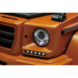 Headlight Cover with LED Lamp for Mercedes-Benz G-Class 2003-2012 by Wald International