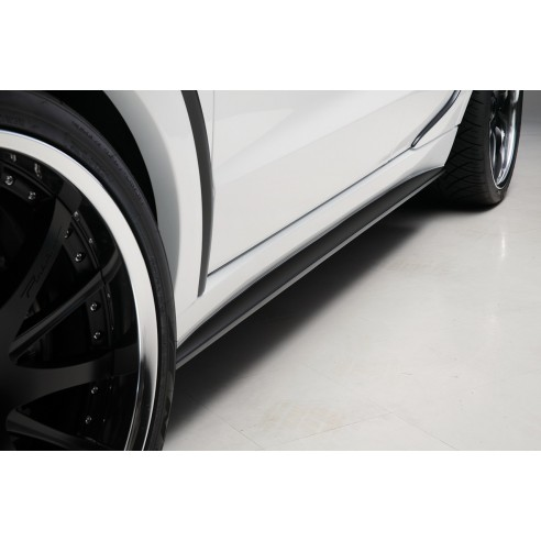 Side Skirt Set for Mercedes-Benz M-Class 2012-2016 by Wald International