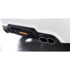Rear Bumper with LED Lamp for Mercedes-Benz SLK-Class 2012-2016 by Wald International