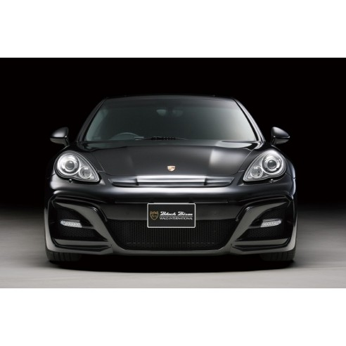 Front Bumper with LED Lamp for Porsche Panamera 2010-2013 by Wald International