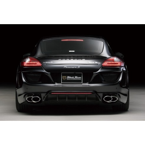 Rear Bumper with LED Lamp for Porsche Panamera 2010-2013 by Wald International