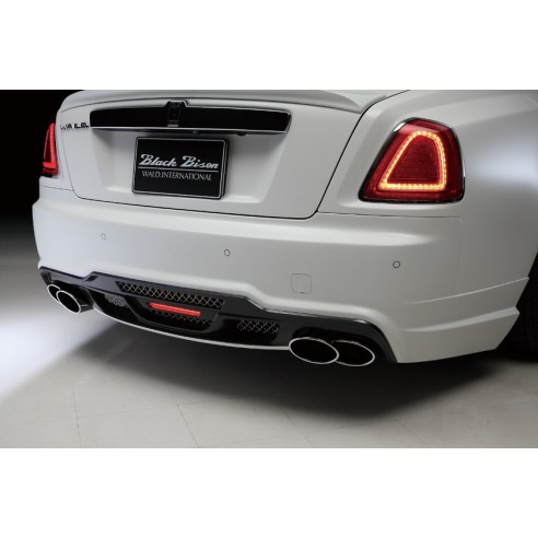 Rear Bumper with LED Lamp for Rolls-Royce Ghost 2010-2013 by Wald International