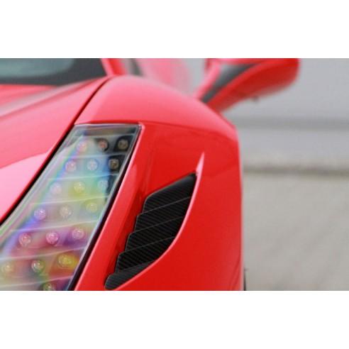 Ventilation Louver-Front Bumper for Ferrari 458 Italia 2010-2013 by Novitec Rosso