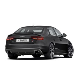 Rear Spoiler with Silencer for Audi A4 2013-2015 by Caractere