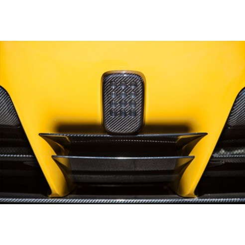 Diffusor Center Part for Ferrari F12 Berlinetta 2012-2014 by Novitec Rosso