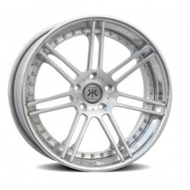 R7 X Concave Step Lip Floating Spoke Wheel by Rennen International Wheels