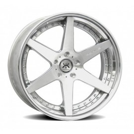 R6 X Concave Step Lip Floating Spoke Wheel by Rennen International Wheels