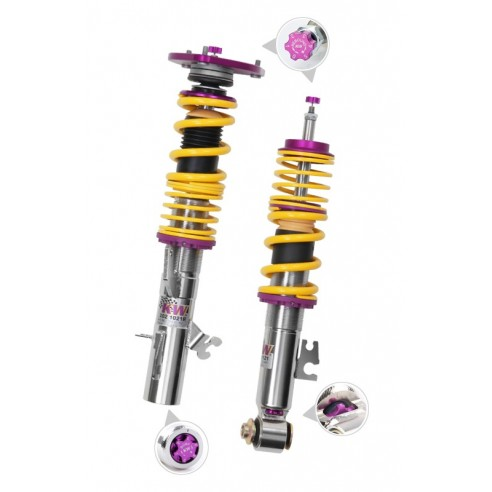 Clubsport Kit with 2 Way Shock Technology With Top Mounts - Without EDC for 2015-2015 BMW M3 by KW Suspensions