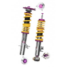 Clubsport Kit with 2 Way Shock Technology With Top Mounts for 2015-2016 BMW 4 Series Coupe RWD by KW Suspensions