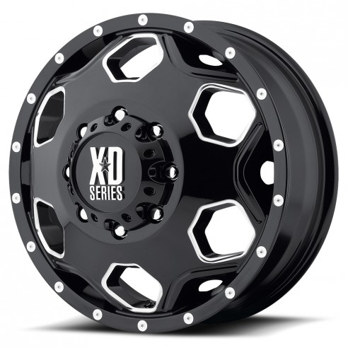 XD815 Battalion Dually Wheel by XD Series Wheels