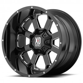 XD825 Buck 25 Wheel by XD Series Wheels
