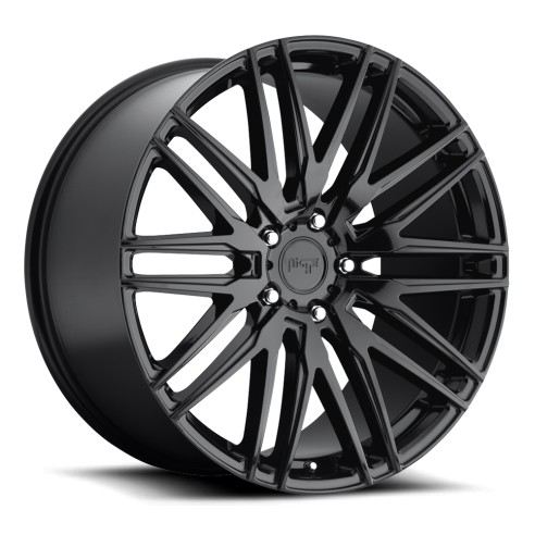 Anzio - M164 Wheel by Niche Wheels - Shown in Gloss Black Finish