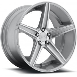 Apex - M125 Wheel by Niche Wheels - Shown in Silver Machined Finish