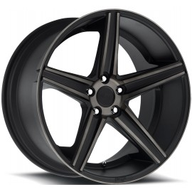 Apex - M126 Wheel by Niche Wheels - Shown in Black Machined Finish