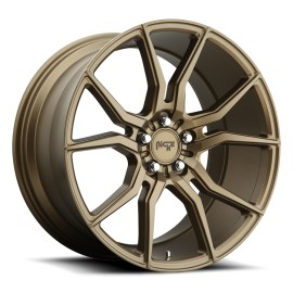 Ascari - M167 Wheel by Niche Wheels - Shown in Bronze Finish