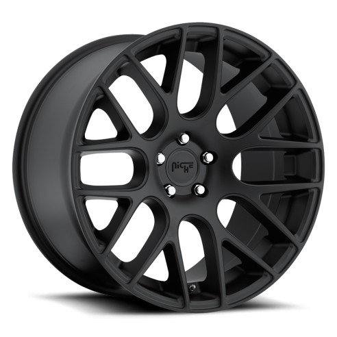 Circuit - M110 Wheel by Niche Wheels - Shown in Satin Black Finish