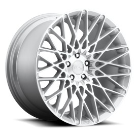 Citrine - M161 Wheel by Niche Wheels - Shown in Silver Machined Finish