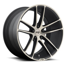 Enyo - M115 Wheel by Niche Wheels - Shown in Black Machined with Double Dark Tint Finish