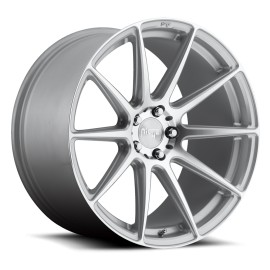 Essen - M146 Wheel by Niche Wheels - Shown in Silver Machined Finish