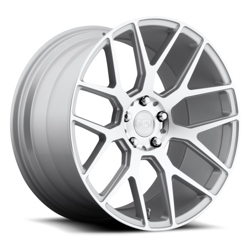 Intake - M160 Wheel by Niche Wheels - Shown in Silver Machined Finish
