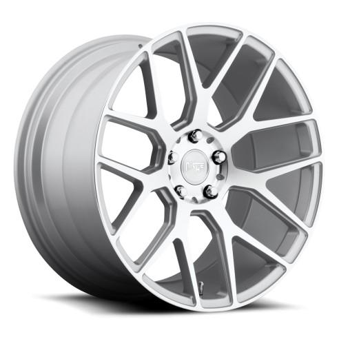 Intake - M160 Wheel by Niche Wheels - Shown in Silver Machined Finish