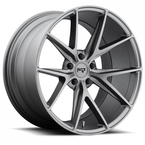 Misano - M116 Wheel by Niche Wheels - Shown in Anthracite Finish