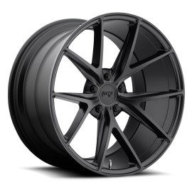 Misano - M117 Wheel by Niche Wheels - Shown in Satin Black Finish