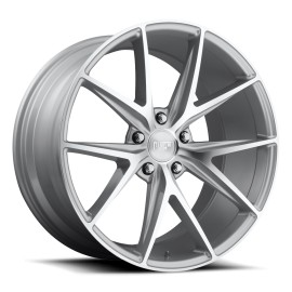 Misano - M118 Wheel by Niche Wheels - Shown in Silver and Machined Finish