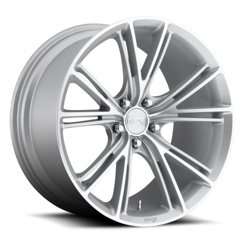 Ritz - M143 Wheel by Niche Wheels - Shown in Silver Machined Finish