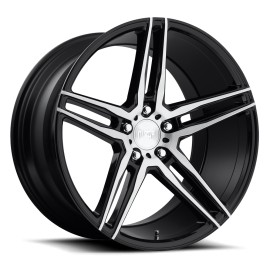 Turin - M169 Wheel by Niche Wheels - Shown in Gloss Black Brushed Finish