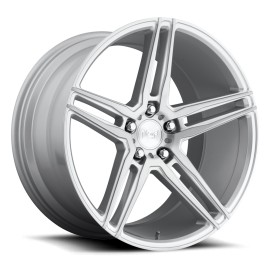 Turin - M170 Wheel by Niche Wheels - Shown in Brushed Silver Finish