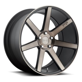 Verona - M150 Wheel by Niche Wheels - Shown in Black Machined with Dark Tint Finish