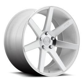 Verona - M151 Wheel by Niche Wheels - Shown in Gloss White Machined Finish