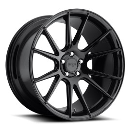 Vicenza - M152 Wheel by Niche Wheels - Shown in Gloss Black Finish