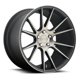 Vicenza - M153 Wheel by Niche Wheels - Shown in Black Machined with Dark Tint Finish