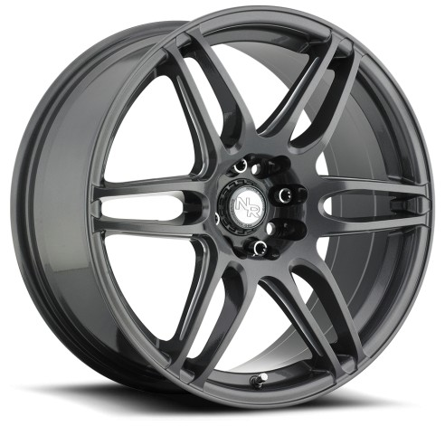 NR6 - M105 Wheel by Niche Wheels - Shown in Anthracite with Milled Spoke Finish