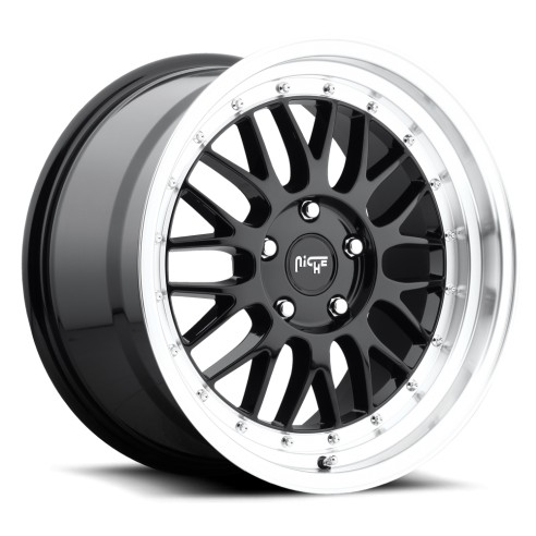 Project - M093 Wheel by Niche Wheels - Shown in Gloss Black with Machined Lip Finish