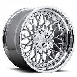 Citrine - H79 Wheel by Niche Wheels - Shown in Custom Finishes Available (SHOWN: Brushed with Chrome Lip) Finish