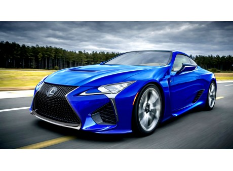 Lexus Rumors 620+ HP LC-F?
