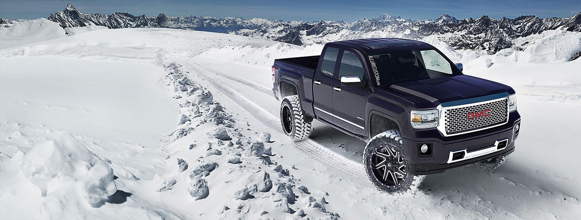 Allure Custom Fuel Off-Road Wheels GMC